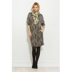 Masai Nolene dress long sleeve Khaki Org