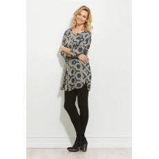 Masai Gordana tunic 3/4 sleeve Aquari Org