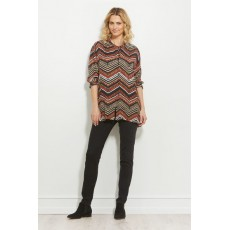 Masai Itsi blouse Long sleeve Flame Org