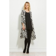 Masai Nimes dress 3/4 sleeve Black Org