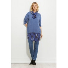 Masai Funda top Long sleeve Porcelain