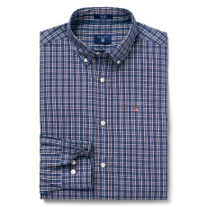 Gant Indigo Check Reg Purple Fig