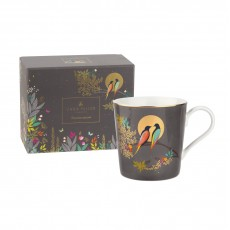 Sara Miller Chelsea Collection Mug Dark Grey