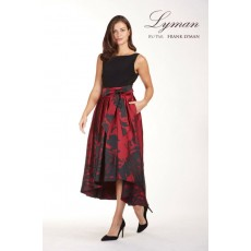 Frank Lyman Dress Red/Black