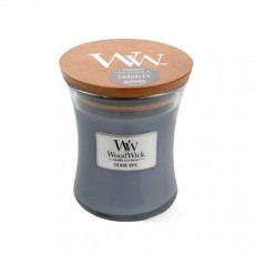 Woodwick Evening Onyx  Medium Hourglass Candle