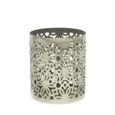 Woodwick Petite Candle Holder Brushed Nickel