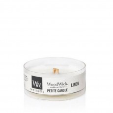 Woodwick Petite Candle Linen