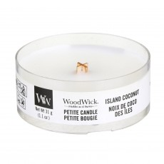 Woodwick Petite Candle Island Coconut