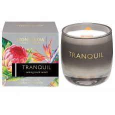 Stoneglow Infusion Tranquil Tumbler Candle - Oolong Tea & Neroli