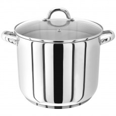 Judge Stockpots 22cm Glass Lid Stockpot 6.5L
