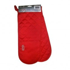 Stellar Textiles 93cm Double Oven Glove Red