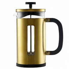 La Cafetiere Edited 3 Cup Pisa Cafetiere Brushed Gold