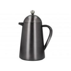 La Cafetiere Edited Doubled Walled 8 Cup Thermique Gun Metal Grey