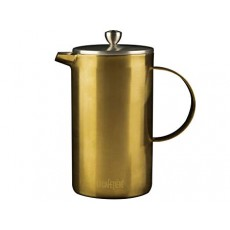 La Cafetiere Edited Doubled Walled 8 Cup Cafetiere Brushed Gold