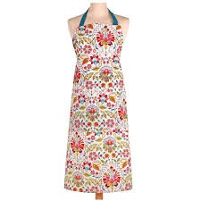 Bountiful Floral Cotton Apron