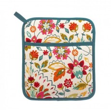 Bountiful Floral Pot Mitt