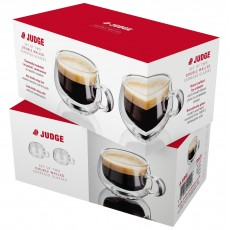 Judge Double Walled Glassware 2 Pc Espresso Glass Set