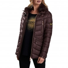 Barbour Autocross Quilt Jacket Cocoa