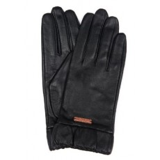 Barbour Latch Leather Glove Black