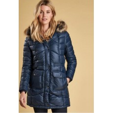 Barbour Hamble Quilt Jacket Navy