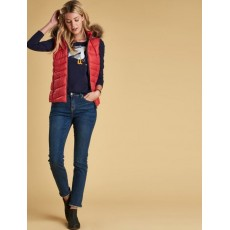 Barbour Bernera Gilet Red/Navy
