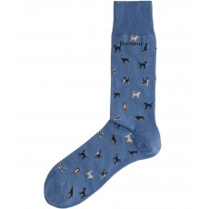 Barbour Mavin Sock Dark Chambray/Dog
