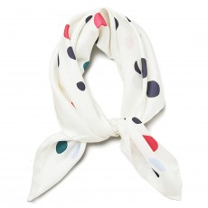 Gant Mobile Silk Scarf Off White