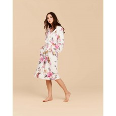 Joules Rita Floral Dressing Gown