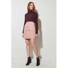 Great Plains Chunky Cord Mini Skirt Cinder Pink