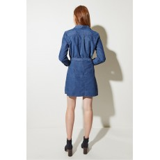 Great Plains Pin Needle Corduroy Mini Skirt Indigo
