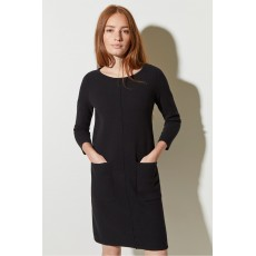 Great Plains Core Milano Ls Dress Black