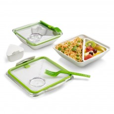 Bon Appetit Lunchbox White/Lime