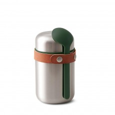 BAM Food Flask Steel/Olive