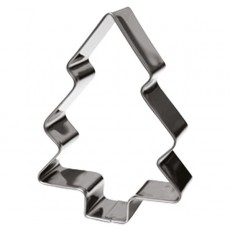 Christmas Tree Stainless Steel Cookie Cutter