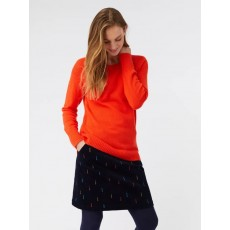 White Stuff Hearth Jumper Foxy Orange Plain