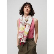 White Stuff Patchwork Zoo Print Scarf