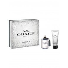 Coach For Men Platinum Eau De Toilette Christmas Coffret Gift Set