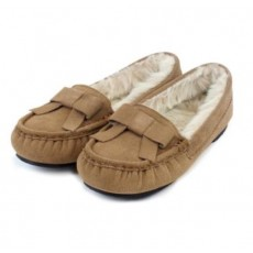 Totes Real Suede Heritage Moccasin Boxed