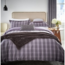Peacock Blue Hotel Collection Vallorie Bedding Amethyst