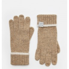 Joules Huddle Gloves Oatmeal