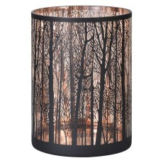 Medium Copper Forest Candle Holder
