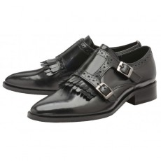 Ravel Fairbank Black High Shine Leather