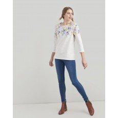 Joules Harbour Print Printed Jersey Top
