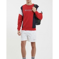 Nicce Alta Sweat Red/Deep Navy