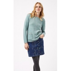 White Stuff Albie Jumper Peridot Green