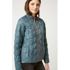 White Stuff Dallington Star Quilted Jacket Green