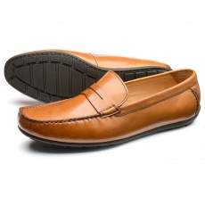 Loake Goodwood Brown Leather Shoe