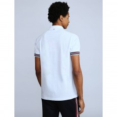 Pretty Green Tipped Pique Polo Shirt
