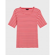 Gant Striped Rib T-Shirt