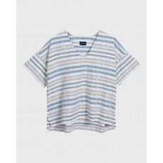 Gant Multi Striped White Top